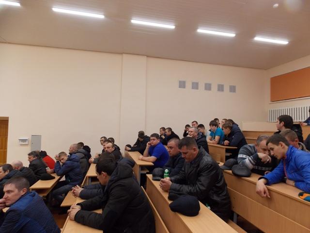 Жеребьевка в аудитории Ульяновской сельскохозяйственной академии